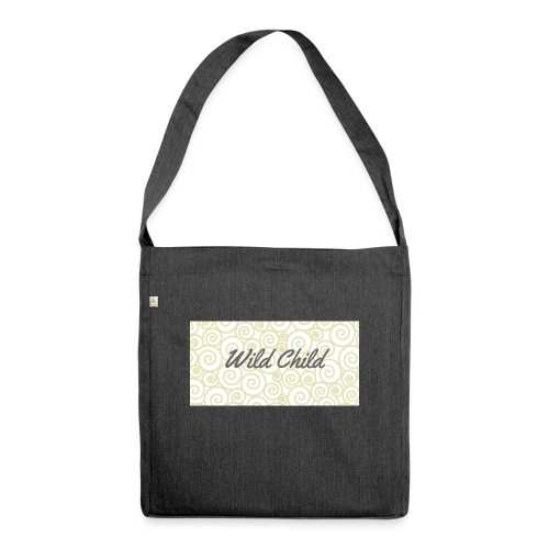 Wild Child 1 - Shoulder Bag made from recycled material