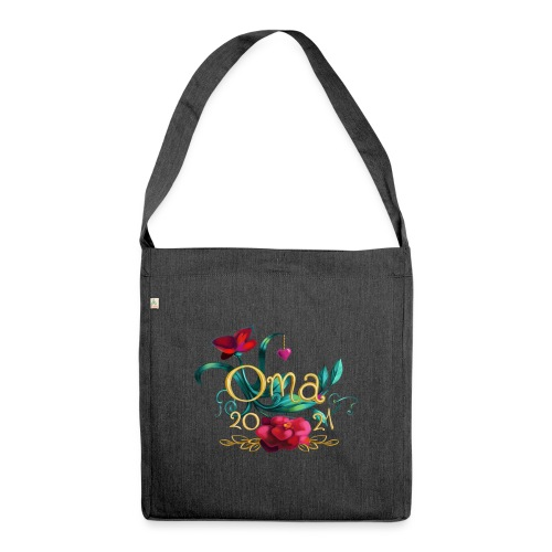 Oma 2021 - Schultertasche aus Recycling-Material
