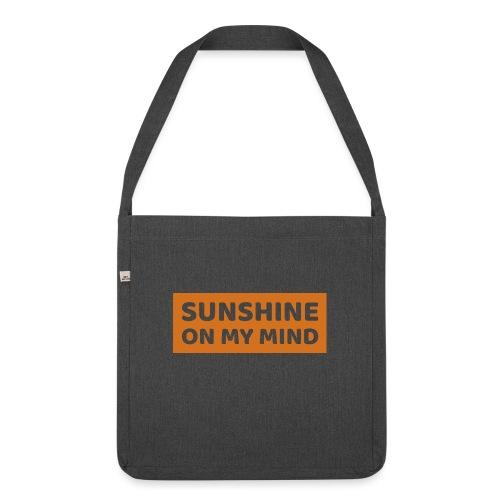 Słońce w mojej głowie - Torba na ramię z materiału recyklingowego
