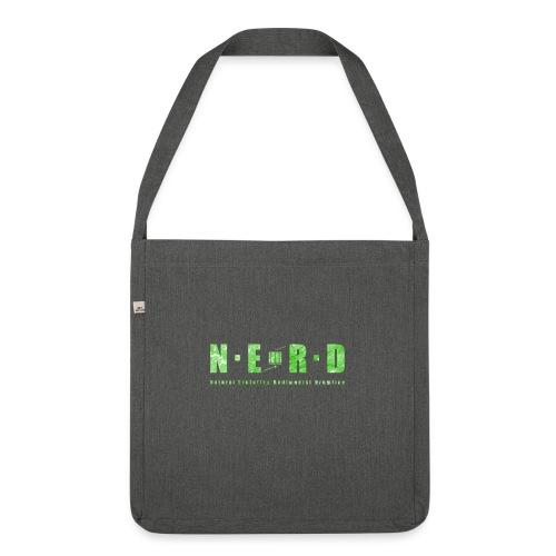 NERD Green - Skuldertaske af recycling-material