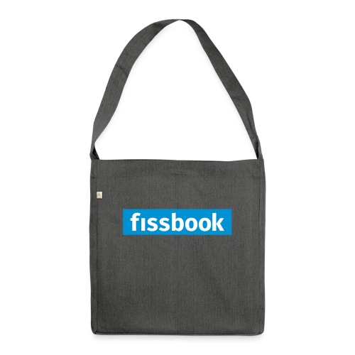 Fissbook Derry - Shoulder Bag made from recycled material