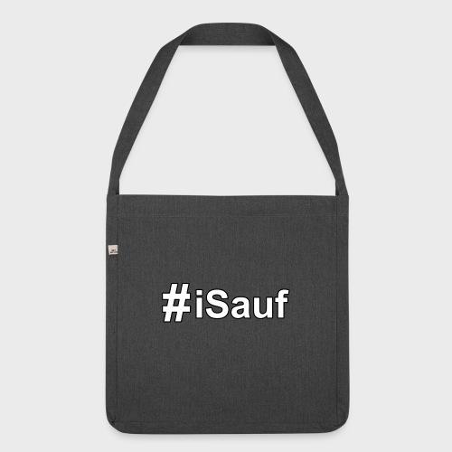 Hashtag iSauf klein - Schultertasche aus Recycling-Material