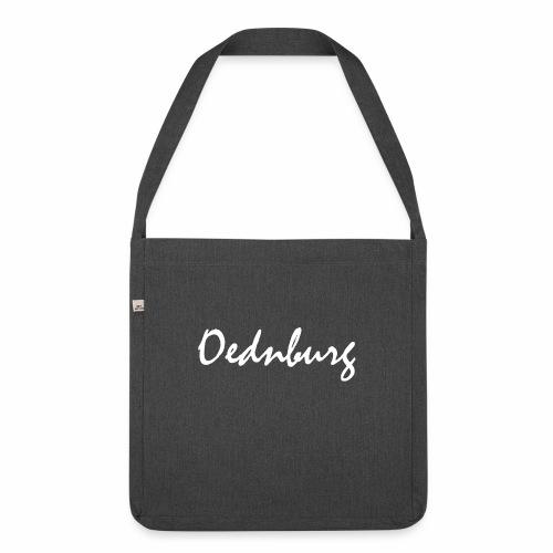 Oednburg Wit - Schoudertas van gerecycled materiaal