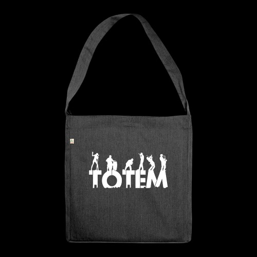 Just TOTEM logo - Shoulder Bag made from recycled material