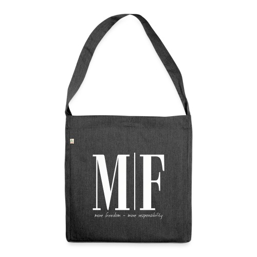 MF more freedom - Schultertasche aus Recycling-Material