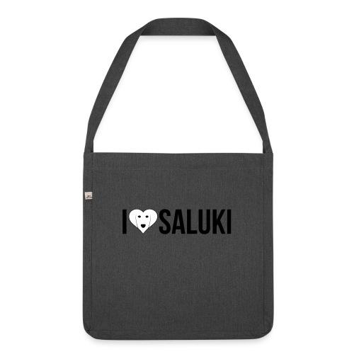 I Love Saluki - Borsa in materiale riciclato