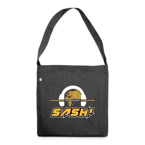 SASH! Logo 2020 Headfone - Shoulder Bag made from recycled material