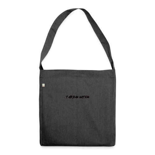 Nation stamp - Shoulder Bag made from recycled material