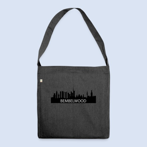 BEMBELwood Frankfurt - Schultertasche aus Recycling-Material