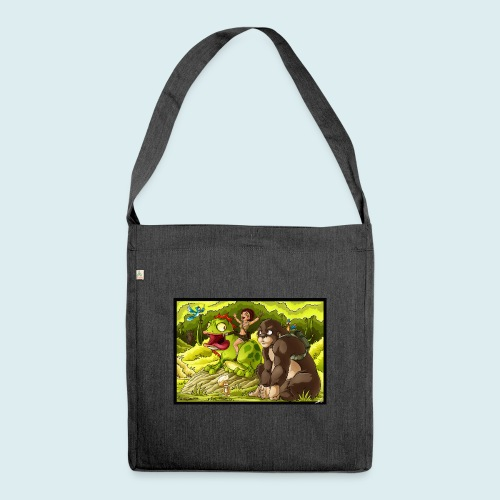 jungle - Borsa in materiale riciclato