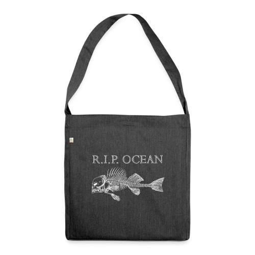 R I P Ocean - Schultertasche aus Recycling-Material