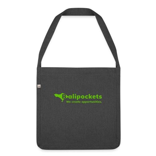 Balipockets Logo - Schultertasche aus Recycling-Material