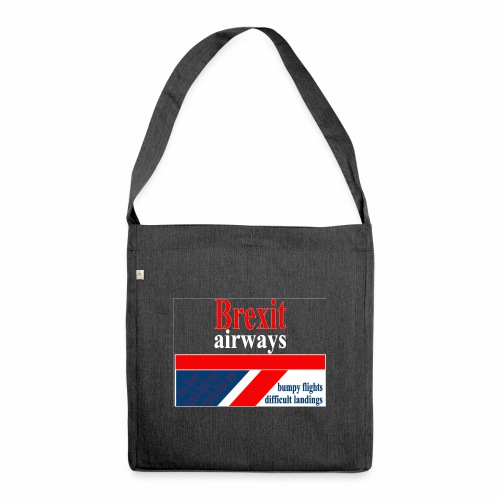 BREXIT AIRWAYS - Schoudertas van gerecycled materiaal