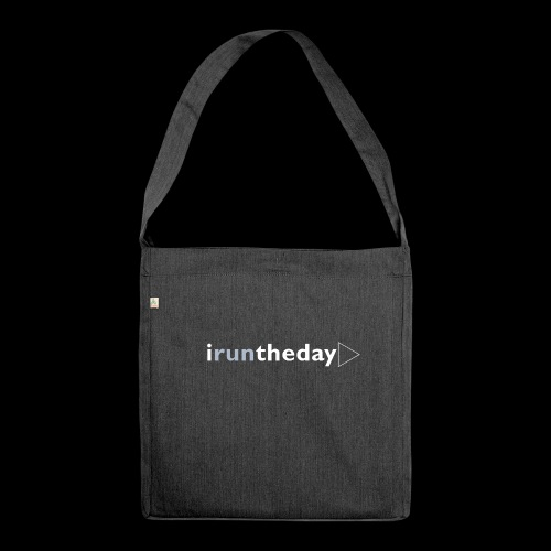 iruntheday clothing range - Shoulder Bag made from recycled material