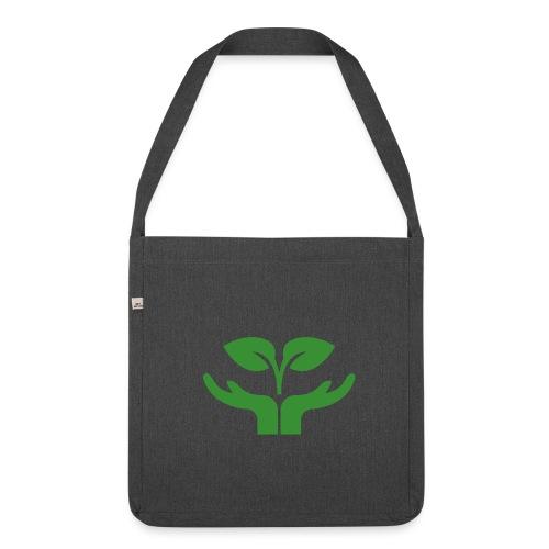 Pflanze einen Baum - Schultertasche aus Recycling-Material
