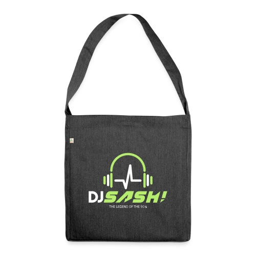 DJ SASH! - Headfone Beep - Shoulder Bag made from recycled material
