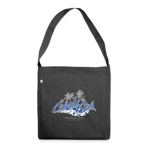 Colorful Girls Logo - Schultertasche aus Recycling-Material