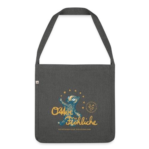 Otter Fröhliche - Schultertasche aus Recycling-Material