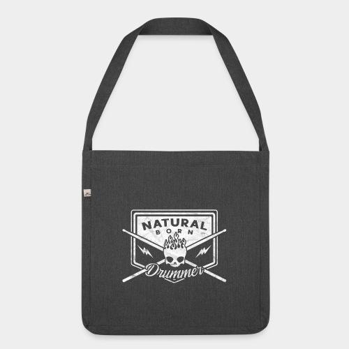 Natural Born Drummer, Schlagzeuger - Schultertasche aus Recycling-Material