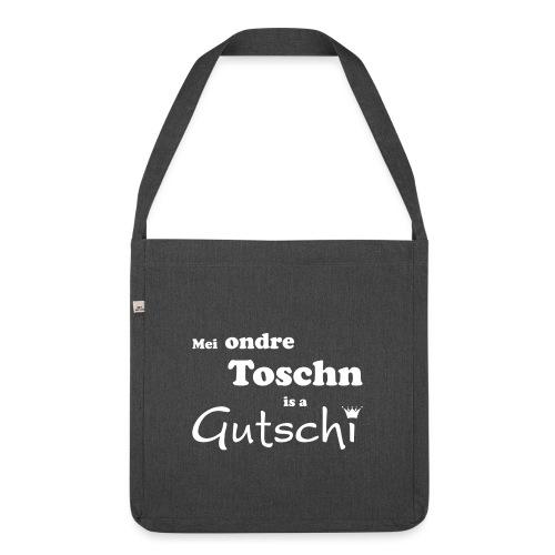 Mei ondre Toschn is a Gutschi - Schultertasche aus Recycling-Material