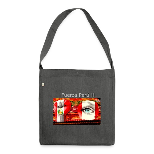 Telar Fuerza Peru I - Shoulder Bag made from recycled material