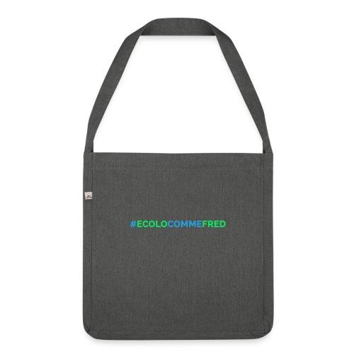 ecolocommefred - Sac bandoulière 100 % recyclé
