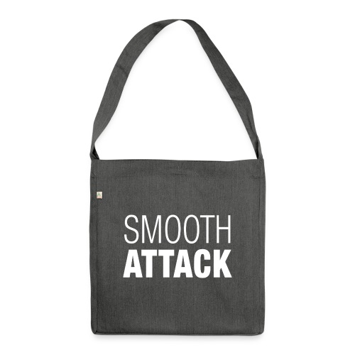 Smooth Attack neg png - Schultertasche aus Recycling-Material