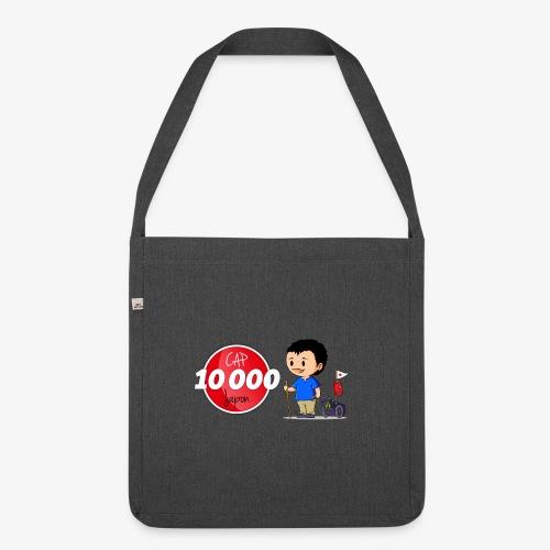 Logo Cap 10 000 Japon - Sac bandoulière 100 % recyclé