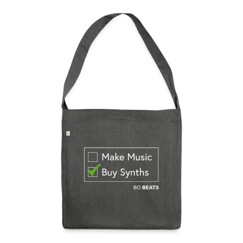 Buying Synths - Shoulder Bag made from recycled material