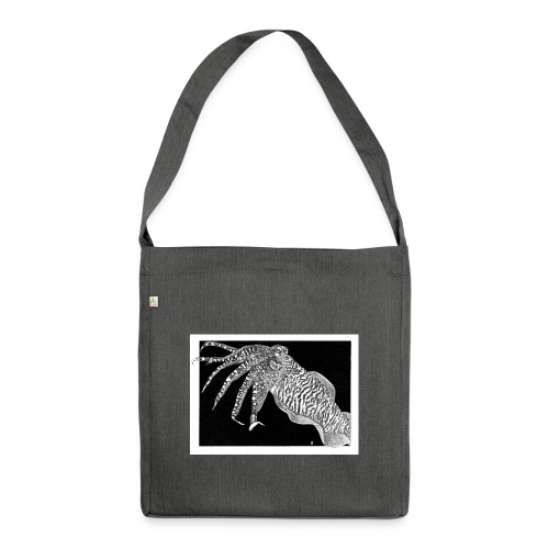 Cuttlefish - Shoulder Bag made from recycled material