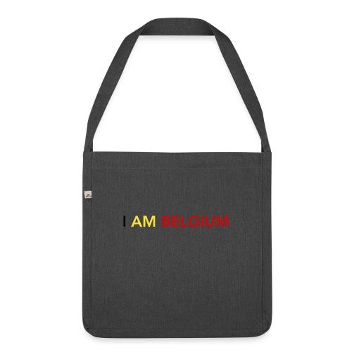 I AM BELGIUM - Sac bandoulière 100 % recyclé
