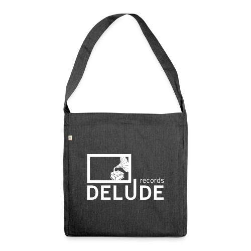 Delude Records Label Logo - Schultertasche aus Recycling-Material