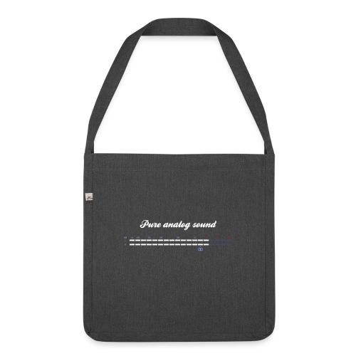 digital VU meters - Shoulder Bag made from recycled material