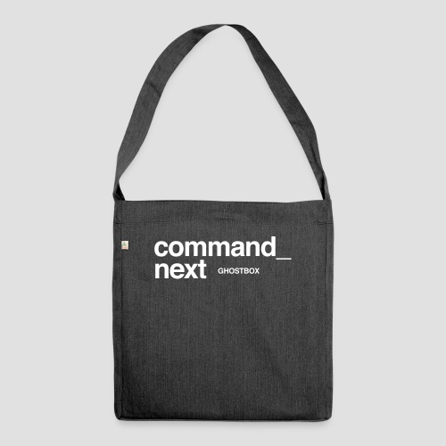 Command next - Schultertasche aus Recycling-Material