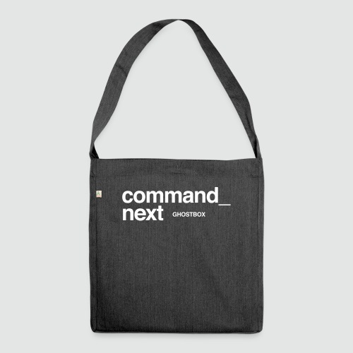 Command next – Ghostbox Staffel 2 - Schultertasche aus Recycling-Material
