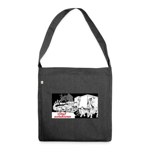 vinyl solutionz - Shoulder Bag made from recycled material