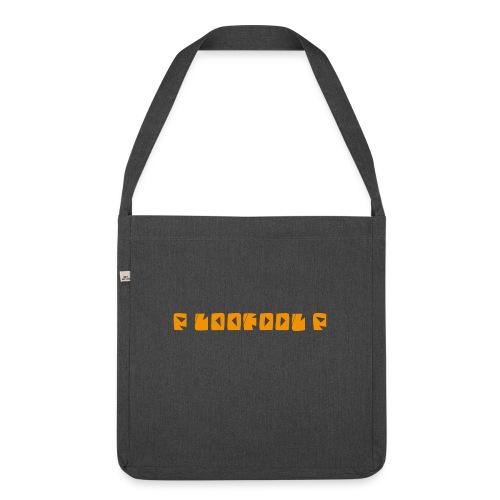 P loofool P - Orange logo - Skulderveske av resirkulert materiale