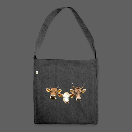 ADELLE, BRUNA, AGATE - Schultertasche aus Recycling-Material