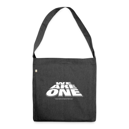 We are One2 - Schultertasche aus Recycling-Material
