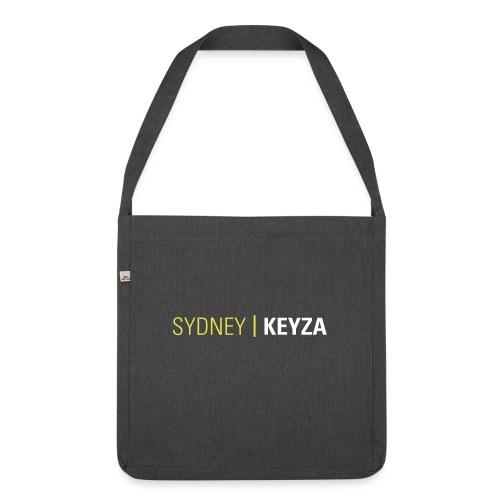 Sydney Logo - Schultertasche aus Recycling-Material