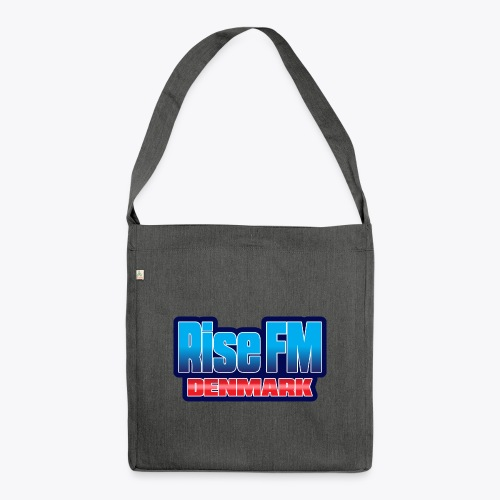 Rise FM Denmark Text Only Logo - Shoulder Bag made from recycled material