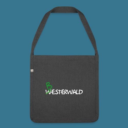 Bester Wald - Schultertasche aus Recycling-Material
