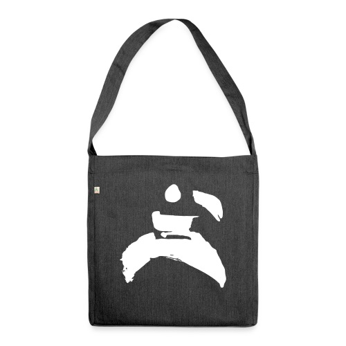 kung fu - Shoulder Bag made from recycled material
