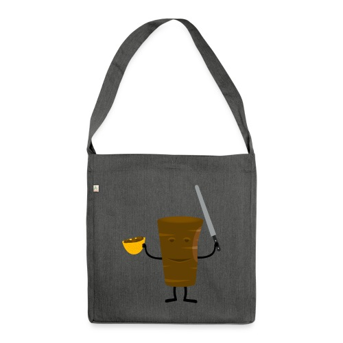 Mr Kebab - Schultertasche aus Recycling-Material