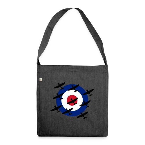 Spitfire vintage warbird - Shoulder Bag made from recycled material
