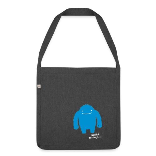 EZ_Zuckermonster-Shirt_mi - Schultertasche aus Recycling-Material