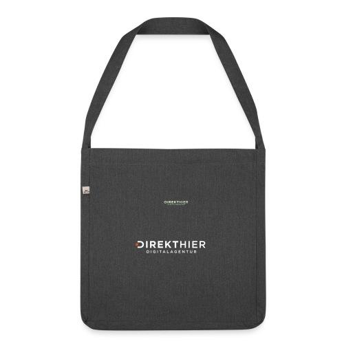 DIREKTHIER Logo - Schultertasche aus Recycling-Material