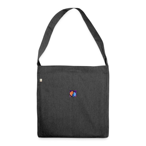 The flame - Shoulder Bag made from recycled material