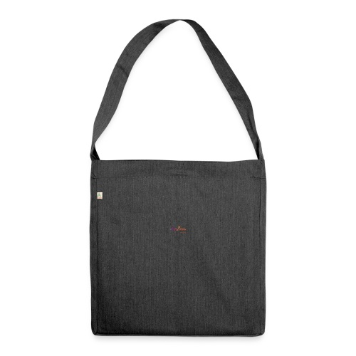 Sound Wave - Schultertasche aus Recycling-Material