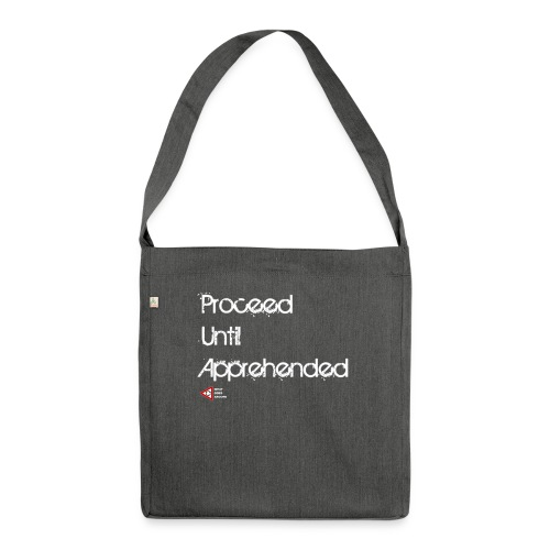 PUA White png - Shoulder Bag made from recycled material